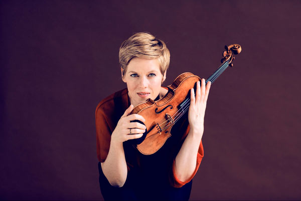 Violinistin Isabelle Faust