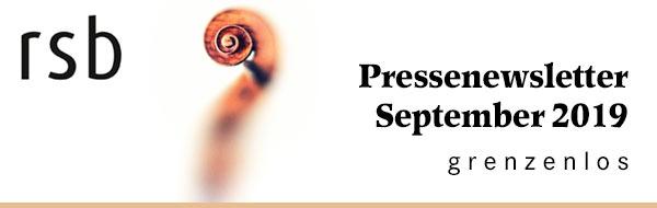 Runfunk-Sinfonieorchester Berlin - Pressenewsletter