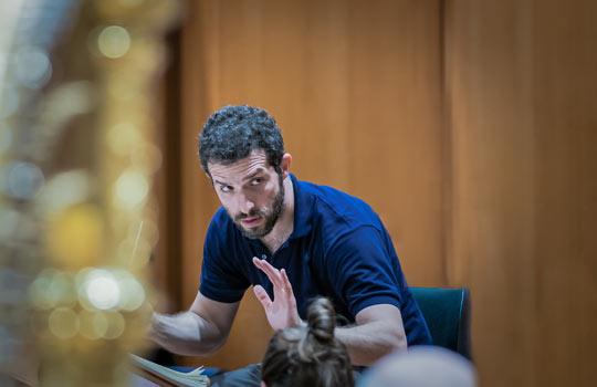 Omer Meir Wellber, Foto: Peter Meisel